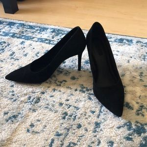 "Forever 21 ""suede"" like material pumps"
